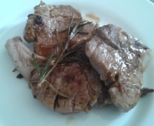Costolette di agnello marinate