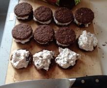 Semifreddo di biscotti al doppio cioccolato